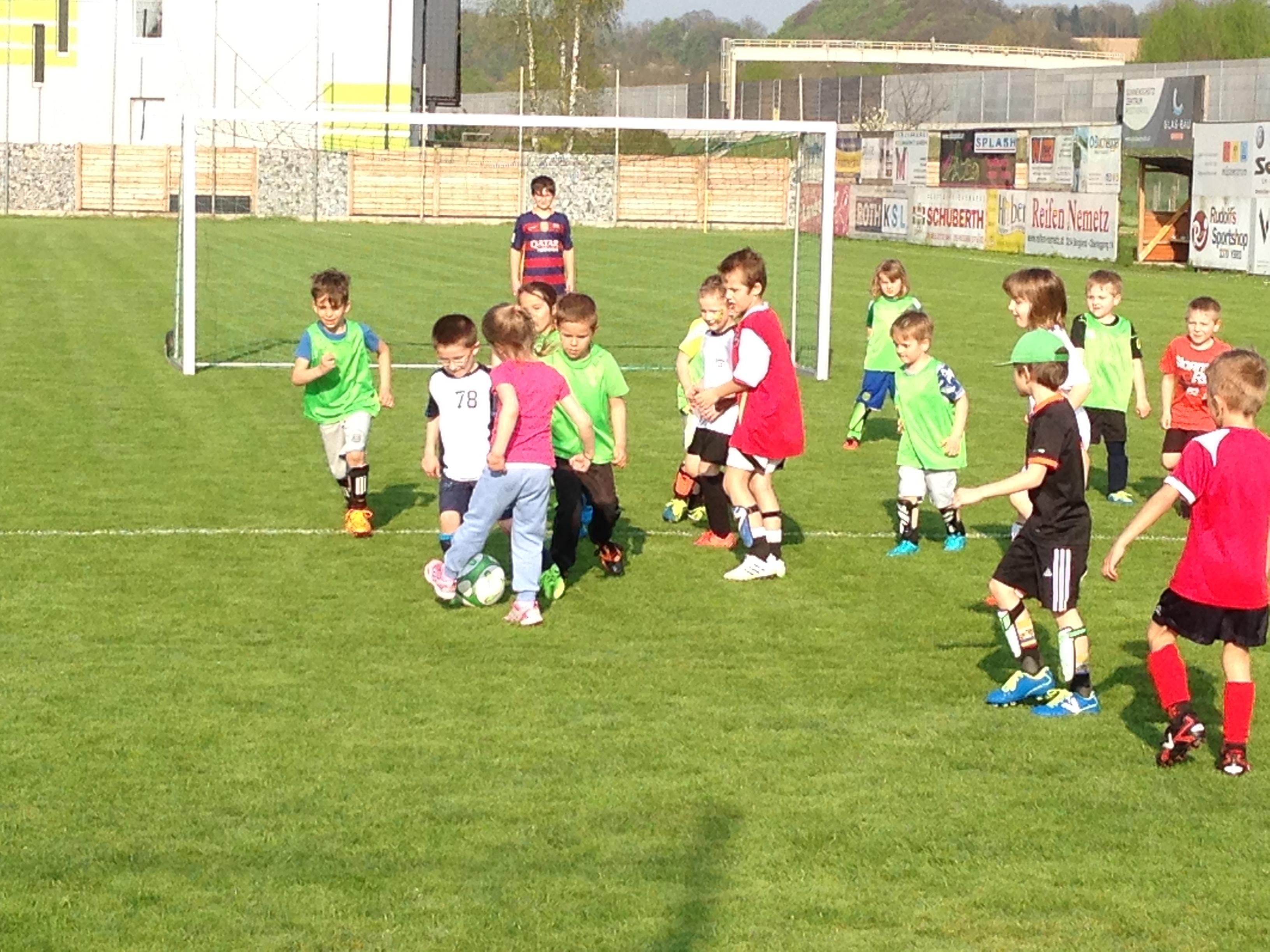 Bambini Training | SV Raika Essmeister Neumarkt
